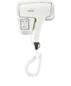 Dolphy White Wall Mounted Hair Dryer