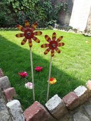 Metal Garden Stick