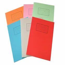 Single Line Hard Bound School Writing Notebook