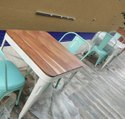 Mustcool Cafe Table Chair Set