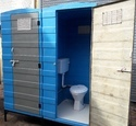 E LOO FRP Single Piece Moulded Toilet