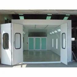 White Paint Spray Booth, 220-240V