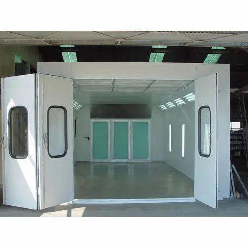 흰색 페인트 스프레이 부스, 220-240V, 산업용 공기 여과 및  환기    아이디: 10289120291