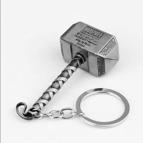 Thor Hammer Metal Key Chain 2006ebfed