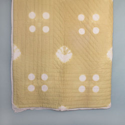 Shibori Hand Quilted Quilt