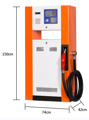 Economical Fuel Dispenser with Printer Ticket
