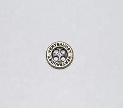 黄铜古董金属钮扣,用于衬衫,包装类型:包装