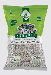 Indian 24 Mantra Organic Urad Dal White Split
