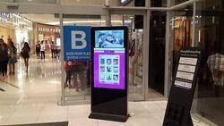 Mall  kiosk Digital Brandings Signages