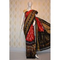 Stylish Pure Cotton Saree With Blouse