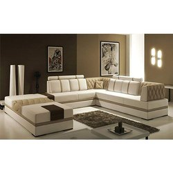 8 Seater L Shape Corner Sofa Set