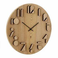 Analog Oval Designer Wooden Watch, For Formal