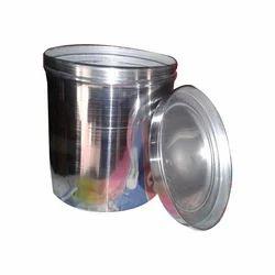 Natural 10-30 Aluminium Dabba