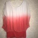 Ombre Dyed Beachwear Kaftan & Dresses