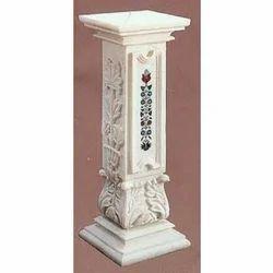 Designer Marble Pedestals
