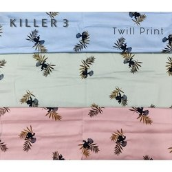 Twill Printed Fabric