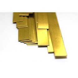 Flat Brass Strip, 5-20 mm