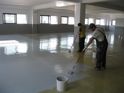 Screeding Floor For Self Levelling System