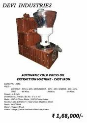 Cold Pressed Oil Machine for Business