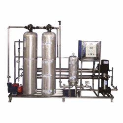 1000 LPH SS Industrial Reverse Osmosis Plant