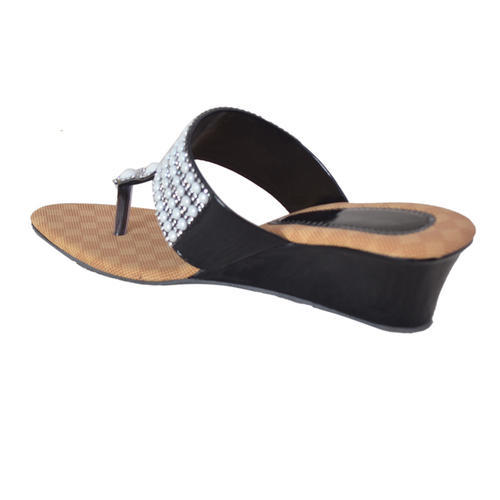 c9afc373f Party Wear Magic Tree Ladies Designer Wedge Chappal, Rs 449 /pair ...