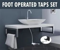 foot operated tap clean hand wash