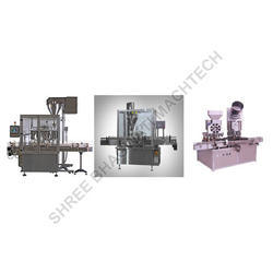 Rotary Powder Filling Machine for Flowing Powders