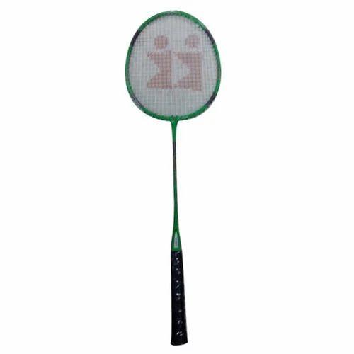 be0f9e8816 KONEX Green And Black Grip Badminton Racket
