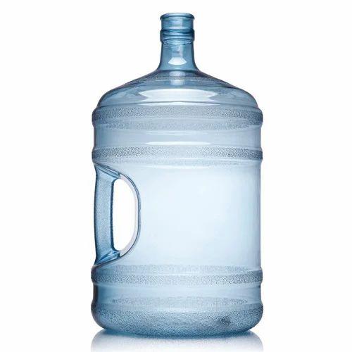 Blue Plastic Water Dispenser Bottle, Capacity: 20 Litre, Rs 110 /piece |  ID: 14931478862