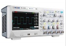 Siglent SDS1104CFL Oscilloscope 70Mhz 4 Channels