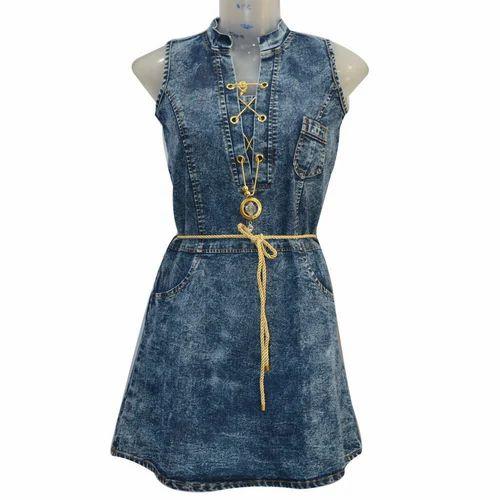 c7897a71fbde4b Medium Ladies Denim One Piece Dress, Rs 325 /piece, Anas Garments ...