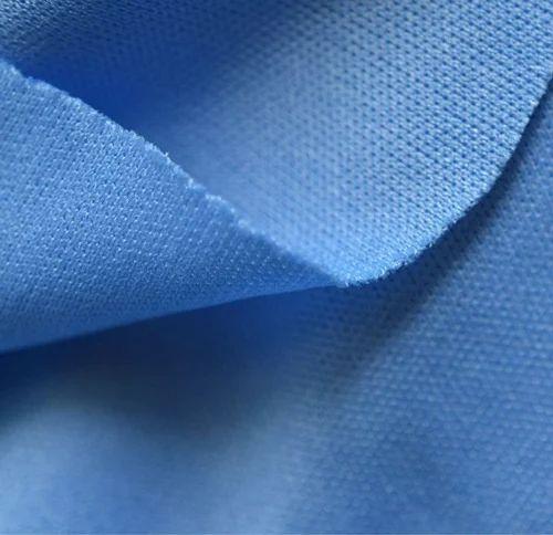 Blue PK Matty PC Fabric