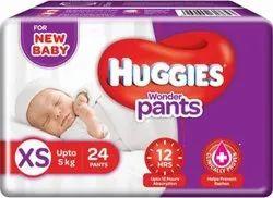 Pant Diapers Huggies Wonder Pants Xs-24