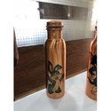 Disginer Printed Copper Bottle