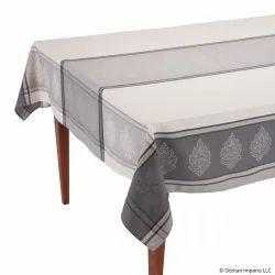 Engineering Border Jacquard Tablecloth