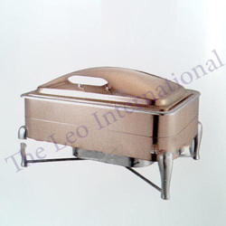 Rectangular Copper Chafing Dish NEW DESIGN