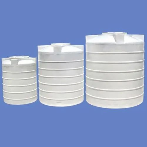 White Plastic Four Layer Water Storage Tank, Storage Capacity: 200-5000 L