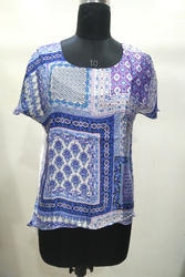 Silk Digital Printed Top