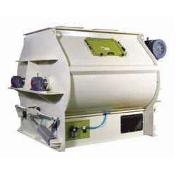 Single / Double Shaft Horizontal Mixer, Capacity: 1000/1500 Kg Per Batch
