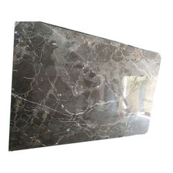 Grey Chigan Marble, Thickness: 5-10 mm, Cut-to-size, Slab