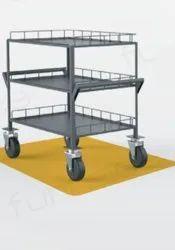 Mild Steel Basic Trolley for Industrial