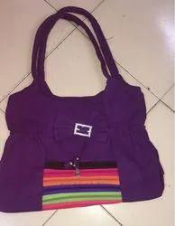 Ladies Cotton Shoulder Bag