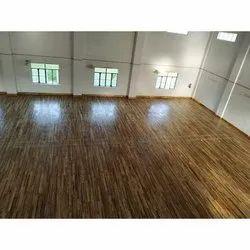 Teak Wooden Sports Flooring