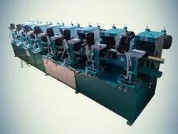 8 Head Pipe Polishing Machine