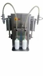 Semi Automatic Liquid Bottle Filling Machine