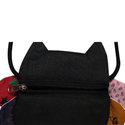 Black Funky Pouch Bags