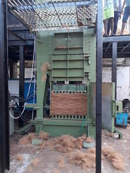 Coir Fibre Baling Machine