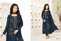 Round Neck And Full Sleeve Moof Salwar Suit Fabric