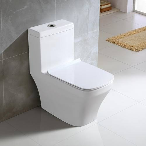 White Closed Front Ceramic Water Closet, Size/Dimension: Size 520 X 450 X 390 Mm