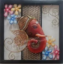 Metal Art Hanging Ganesha